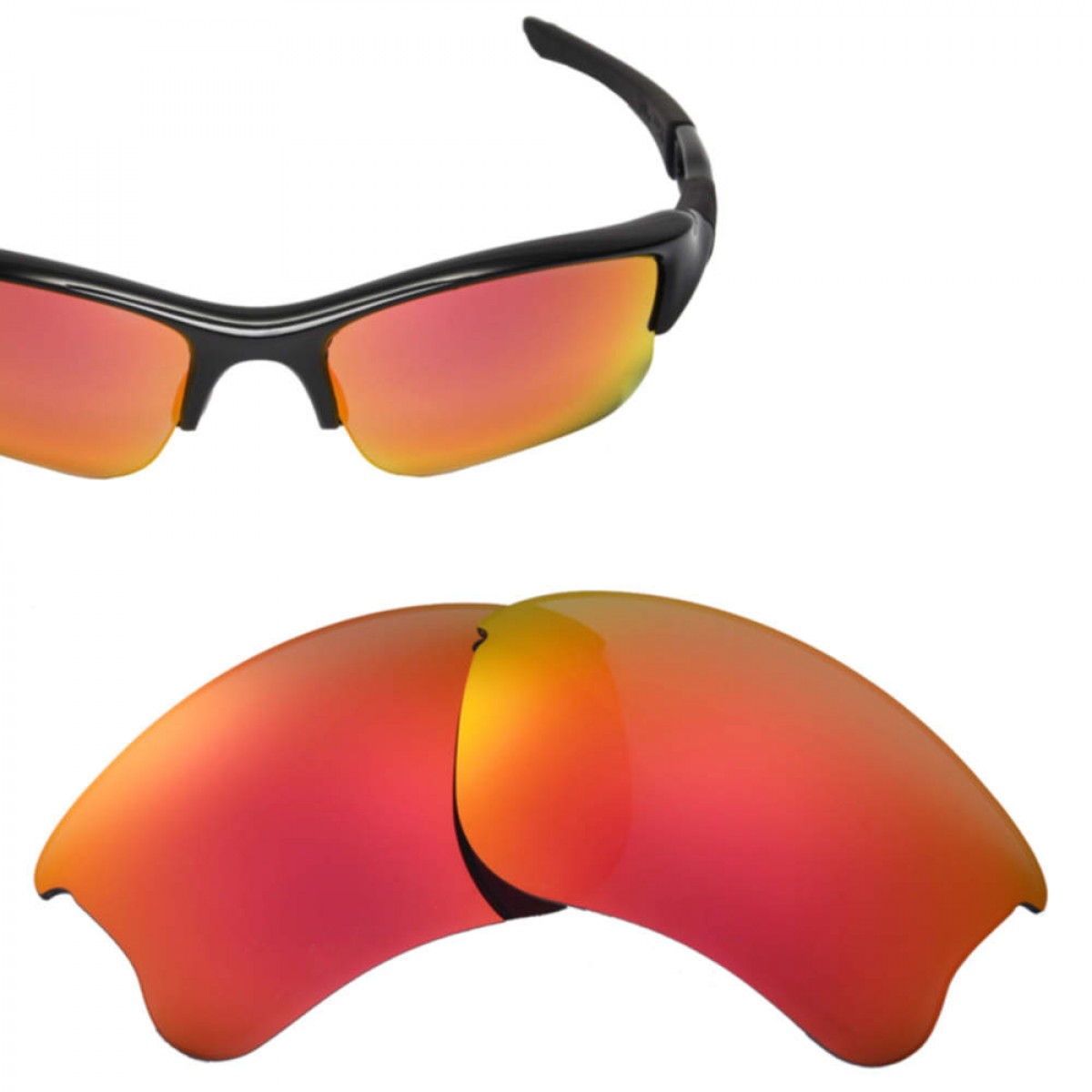 98964804d7a Cofery Lenses Store Cofery Replacement Lenses for Oakley Flak Jacket XLJ  Sunglasses