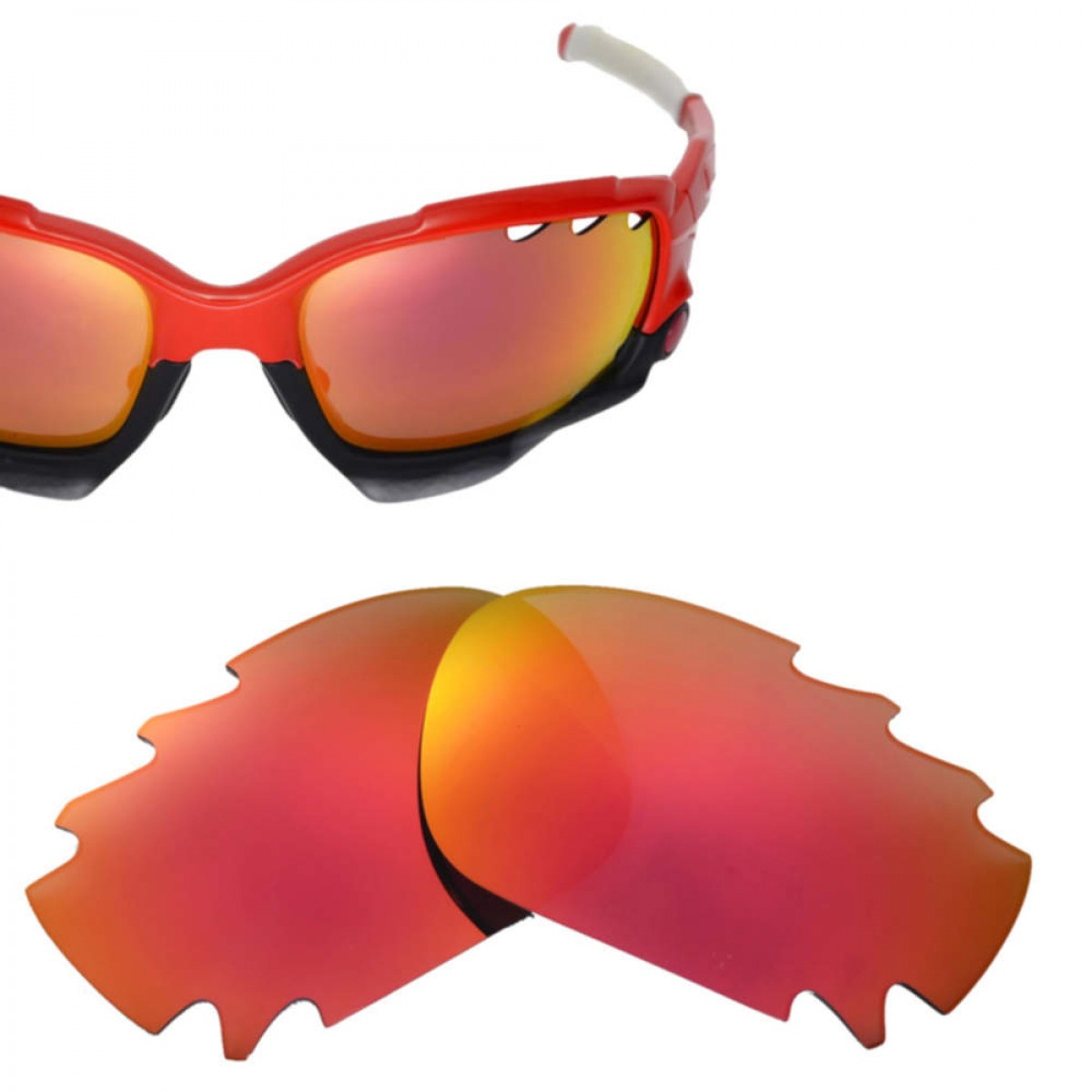 e0969df67dc2 Cofery Lenses Store Cofery Vented Replacement Lenses for Oakley Jawbone  Sunglasses