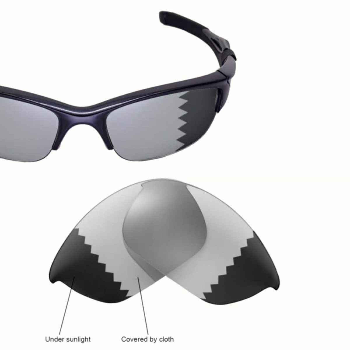 1b004111f2 Cofery Lenses Store Cofery Replacement Lenses for Oakley Half Jacket .