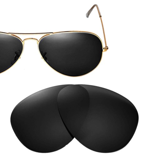 Cofery Replacement Lenses for Ray-Ban Aviator RB3025 62mm Sunglasses