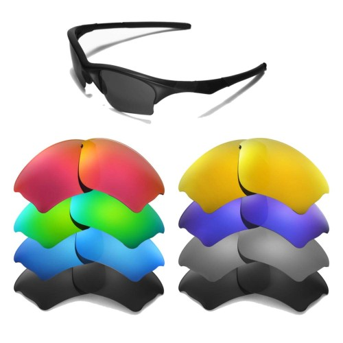 Cofery Replacement Lenses for Oakley Half Jacket XLJ Sunglasses