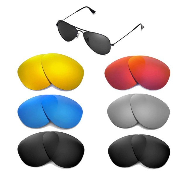 Cofery Lenses Store Cofery Replacement Lenses for Ray-Ban Aviator ...