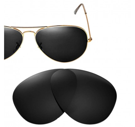 89c9aebe187 Cofery Replacement Lenses for Ray-Ban Aviator RB3025 62mm Sunglasses